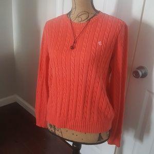 Ralph Lauren peach/coral sweater
